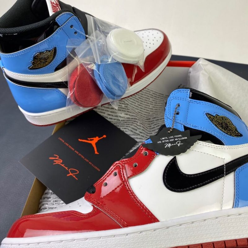 Air Jordan 1 Retro High Fearless UNC Chicago – SneakerClub
